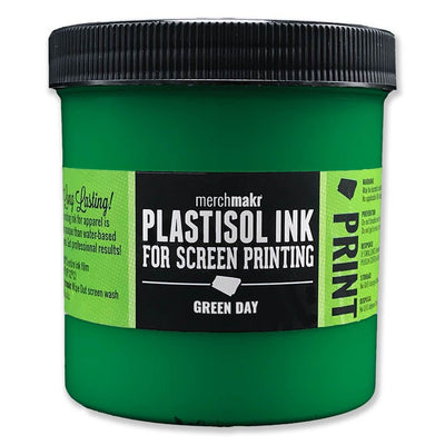 Green Day 348 Merchmakr Plastisol Ink for Screen Printing