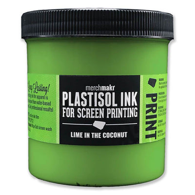 Lime in the Coconut 360 Merchmakr Plastisol Ink for Screen Printing