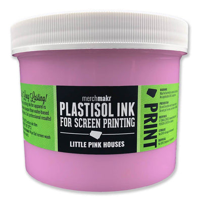 Little Pink Houses 244 Merchmakr Plastisol Ink for Screen Printing