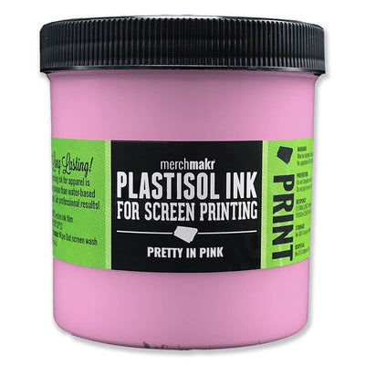 Pretty in Pink 230 Merchmakr Plastisol Ink for Screen Printing