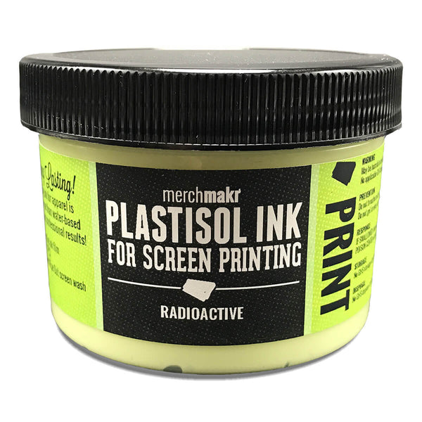 Merchmakr Radioactive Glow-in-the-Dark Plastisol Ink
