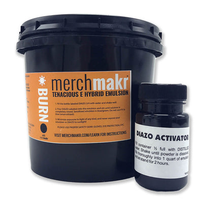 Merchmakr Tenacious E Hybrid Emulsion for Plastisol, Discharge and Water-Based inks