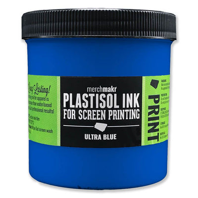 Ultra Blue 2728 Merchmakr Plastisol Ink for Screen Printing