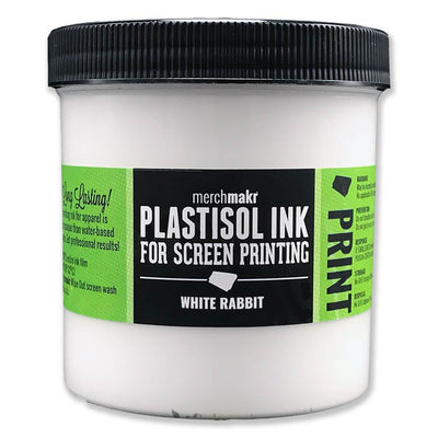 White Rabbit Merchmakr Plastisol Ink for Screen Printing