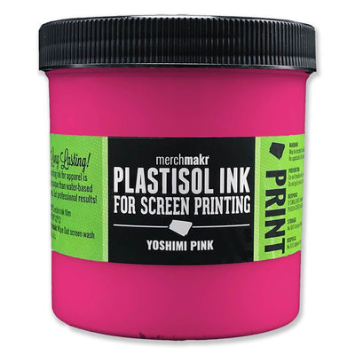 Yoshimi Pink 213 Merchmakr Plastisol Ink for Screen Printing