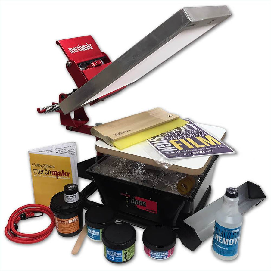 Merchmakr All In One Screen Printing Kit Merchmakr Diy Screen