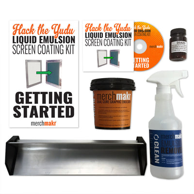 Hack the Yudu Screen Liquid Emulsion Kit