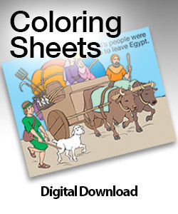 Coloring Sheets - Ages 2 and 3 - Year 1