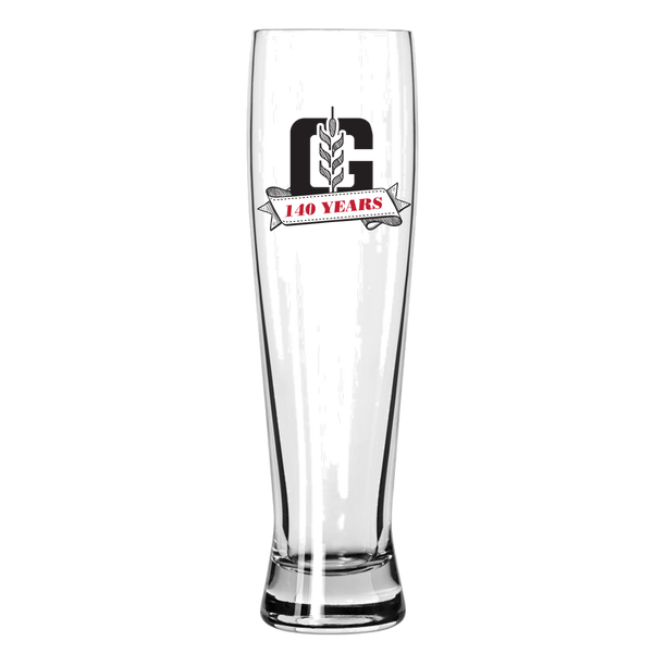 140th Anniversary Pilsner Glass