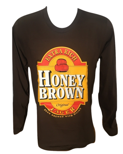 Honey Brown Long Sleeve T