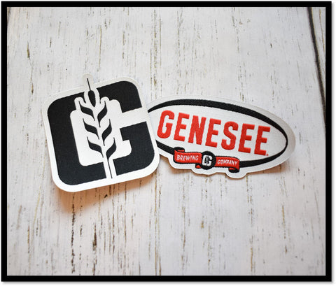 Genesee Iron On Patches