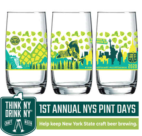 NYS Pint Days Glass