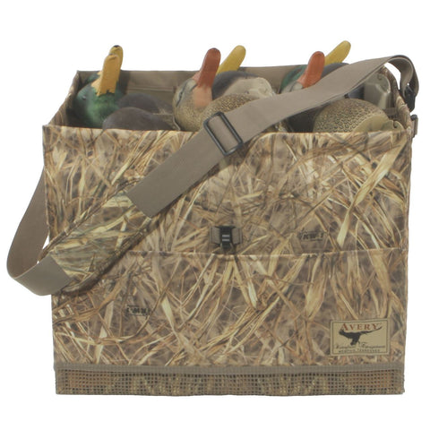 Avery 6 Slot Duck Decoy Bag Mossy Oak Shadowgrass Blades