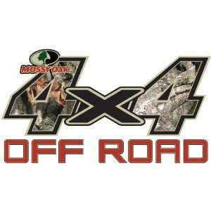 "Mossy Oak Graphics 4 x 4 OFF ROAD  Decal Large 13.75""x 7.5"" Treestand"