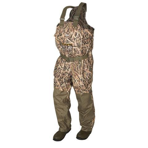 Banded Redzone Breathable Uninsulated Chest Waders Shadow Grass Blades UK Size 13