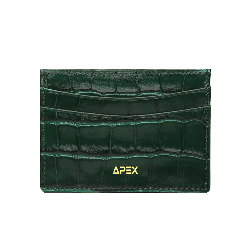 Xian Croc Card Holder - ApexAccessories