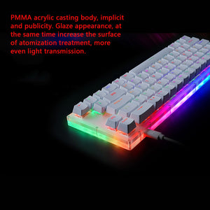 Womier K66 | Gateron Switch RGB | Mechanical Gaming Keyboard with Crystalline Base