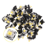 annepro2 - 70PCS Pack 3Pin Gateron Linear Yellow Switch Keyboard Switch for Mechanical Gaming Keyboard - Anne Pro 2 -