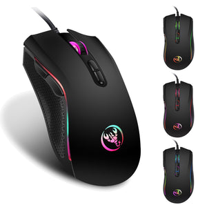 HXSJ A869 | 3200DPI | 7 Buttons - 7 Colors | Wired Mouse - Anne Pro 2