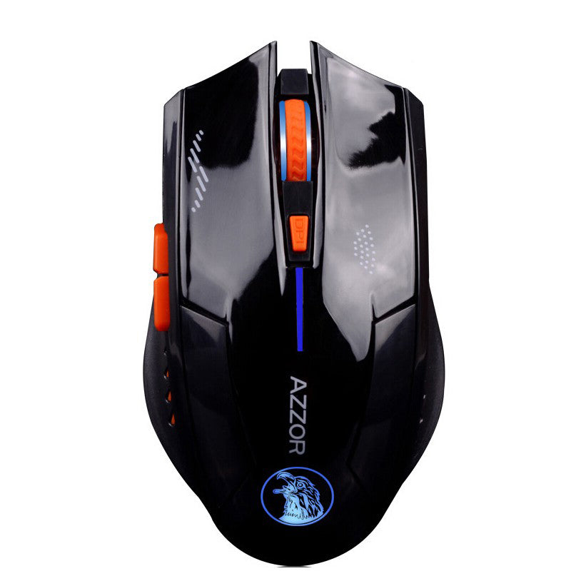 annepro2 - Azzor Wireless 2400DPI 2.4GHz Silence Ergonomic Laser Gaming Rechargeable Mouse - Anne Pro 2 -