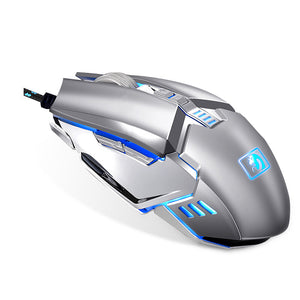 annepro2 - Newmen M312 2400DPI USB Wired Metal Scroll Wheel Backlit Optical Gaming Mouse - Anne Pro 2 -