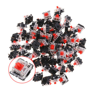 3Pin Gateron | Linear Red Switch | 70PCS Pack - Anne Pro 2