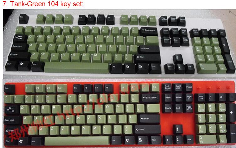 Taihao keycaps for Mechanical Keyboard | Cherry MX Switch  | 104 keys | Tai hao