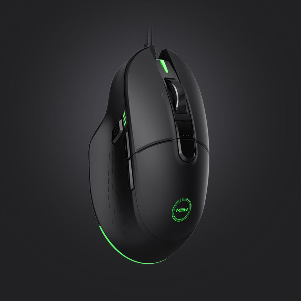 MIIIW MWGM01 | Wired | 8 Buttons 7200DPI | RGB | Light Gaming Mouse - Anne Pro 2