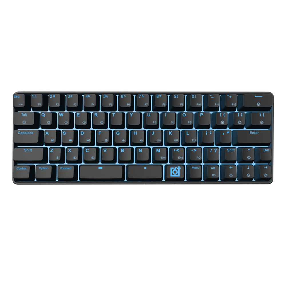 annepro2 - GK66 bluetooth USB-C Dual Mode Split-Spacebar Hot-swappable Gateron Optical Switch RGB Mechanical Gaming Keyboard - Anne Pro 2 -