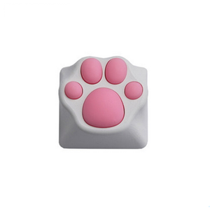 Cat Claw | PBT the Cherry Blossom | Keycap for Mechanical Keyboard | Pink Black - Anne Pro 2
