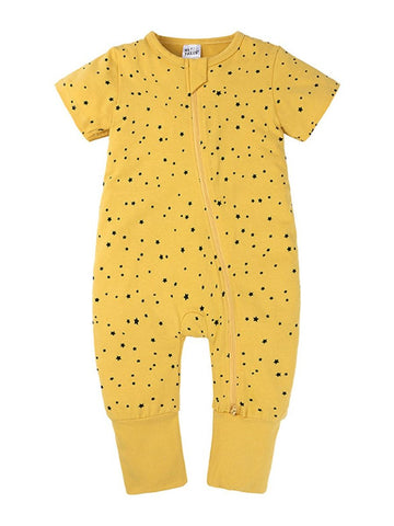 Yellow Stars Onesie