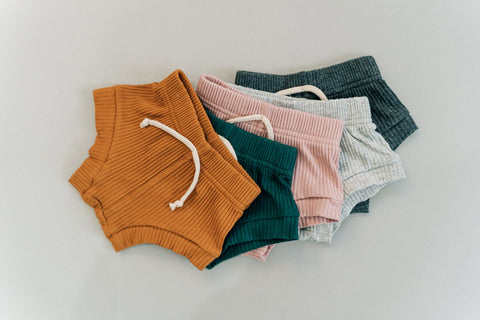 RUST Ribbed Shorties