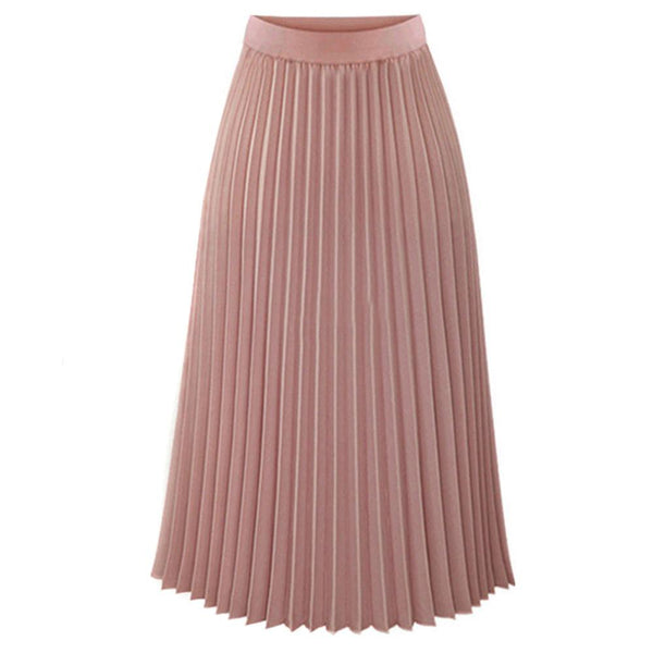Casual Maxi Dress Mid length Skirt