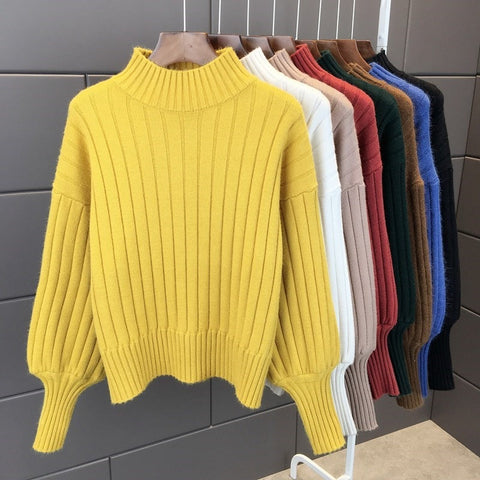 Sleeve Loose Sweater