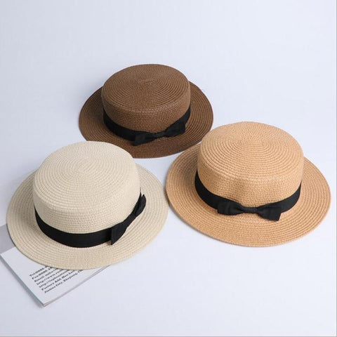 Wholesale Sun Flat Straw Hat