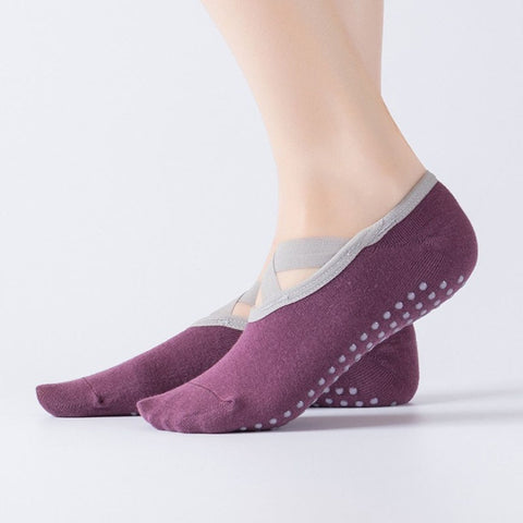 Women Cotton Yoga Socks