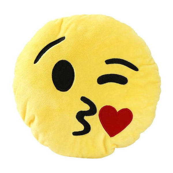 Stuffed Plush Toy Emoji Pillow