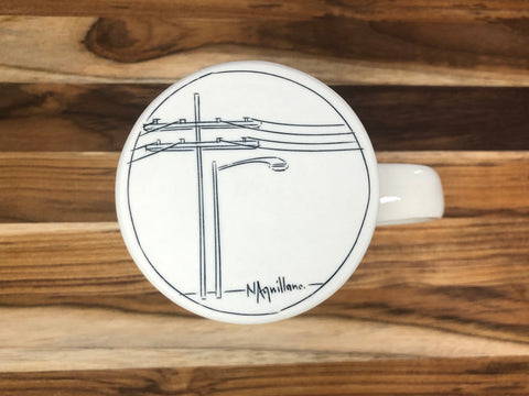 Tall Streetscape Mug