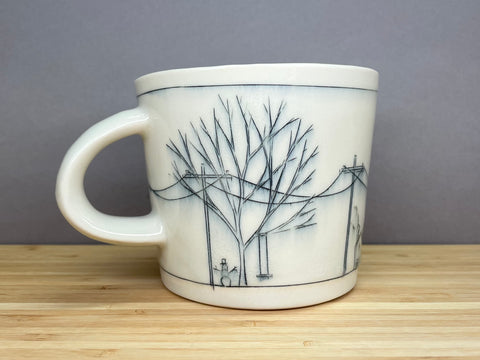 Large Streetscape Mug