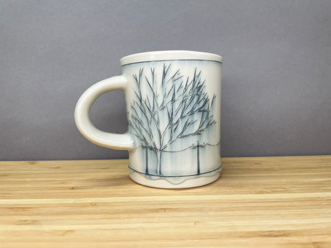 Small Tall Streetscape Mug (8 oz)
