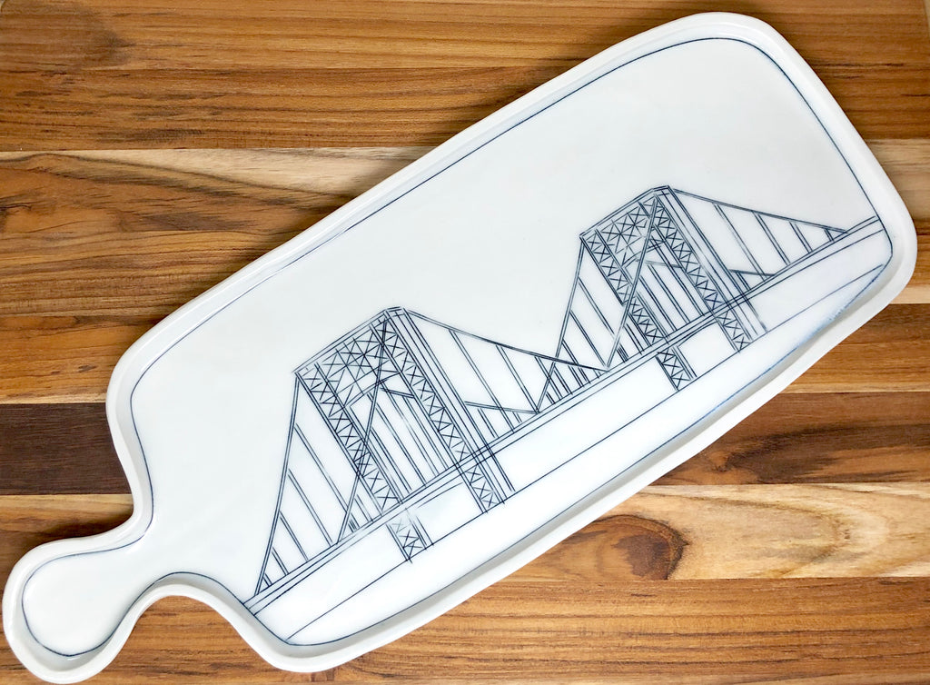 George Washington Bridge Cheeseboard