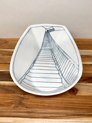 Staircase Serving Dish