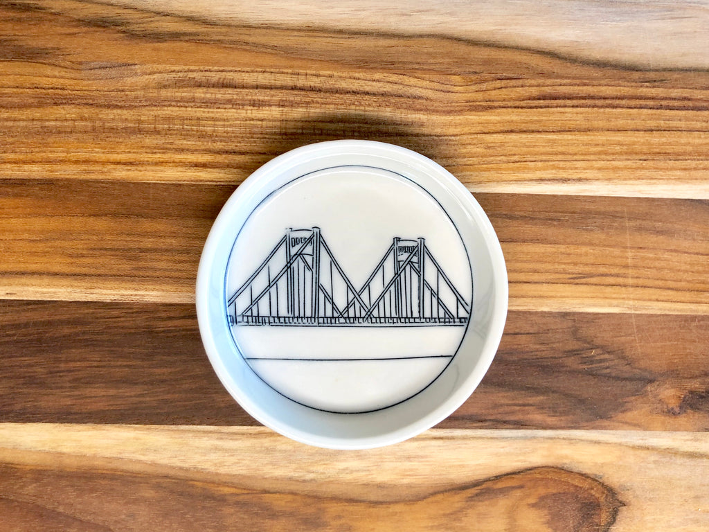 Clemente Bridge Teeny Tiny Round Dish