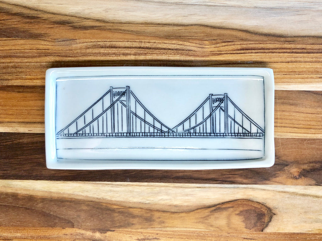 Clemente Bridge Trinket Dish