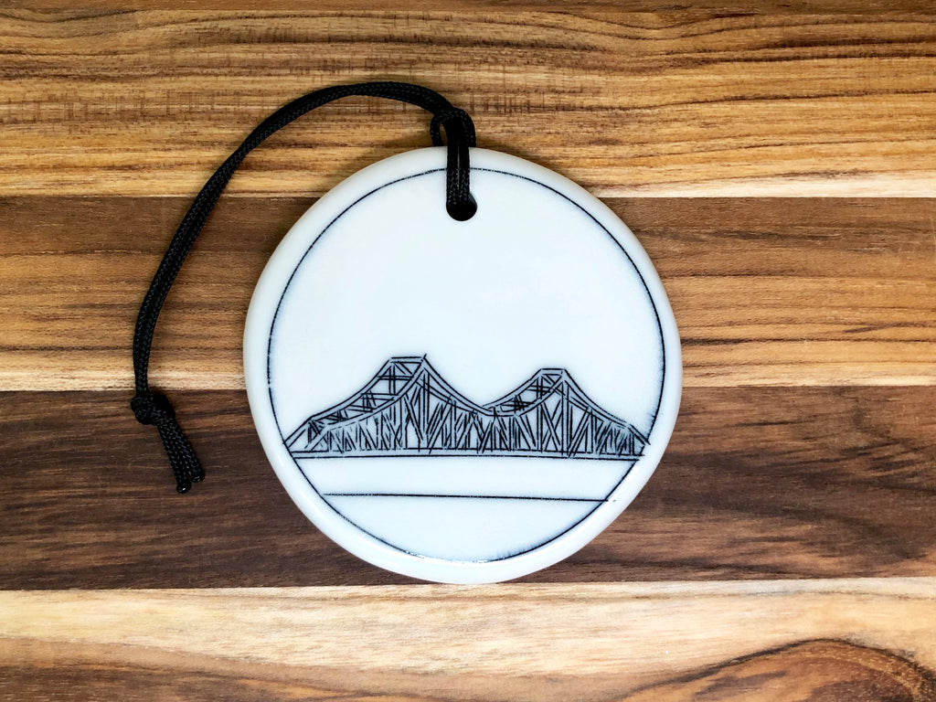 Tobin Bridge Ornament