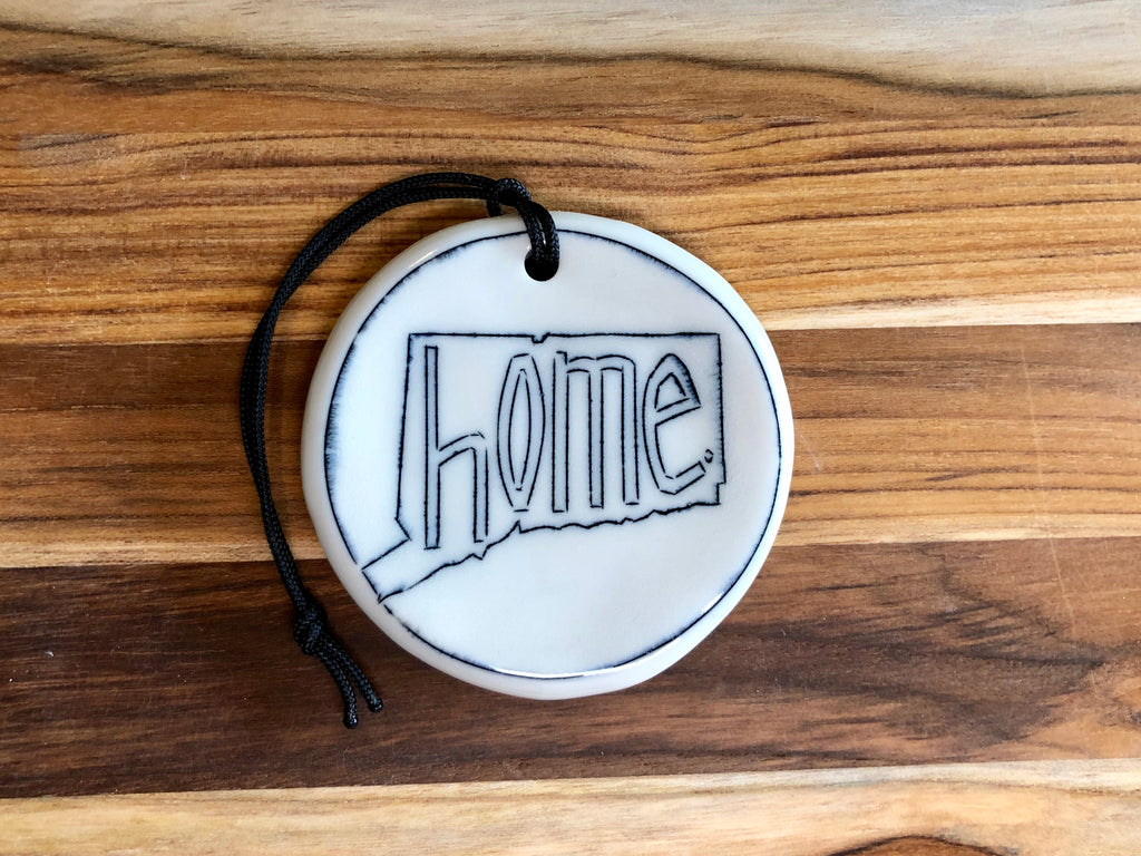 "Connecticut State ""home"" Ornament"