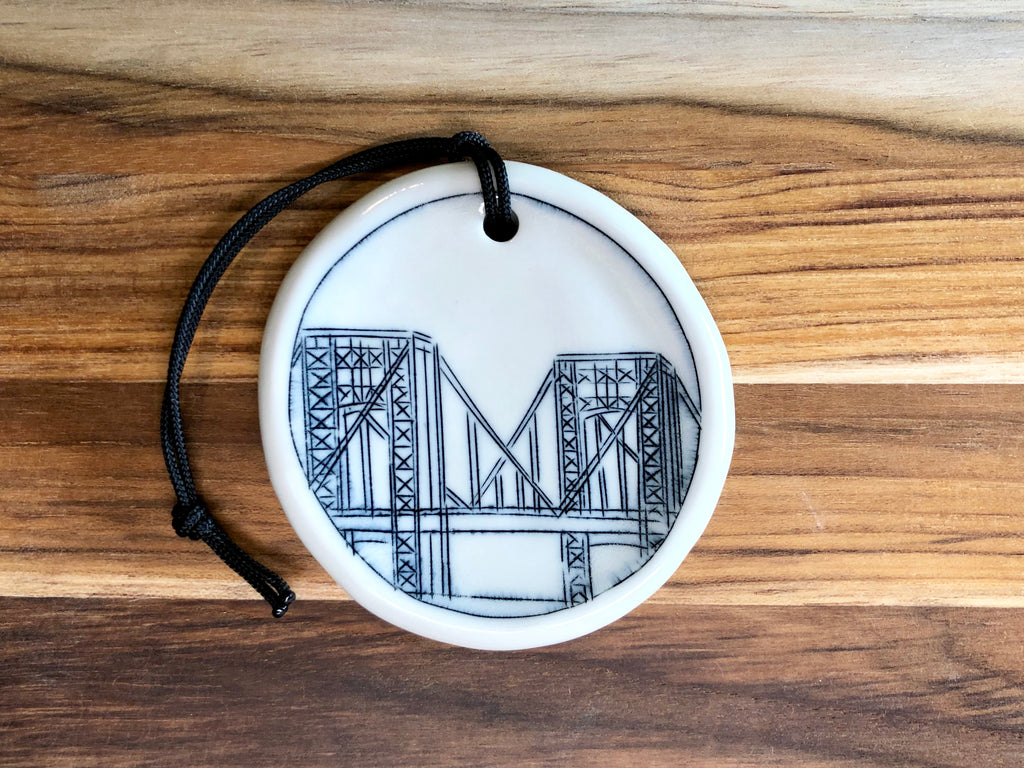 George Washington Bridge Ornament
