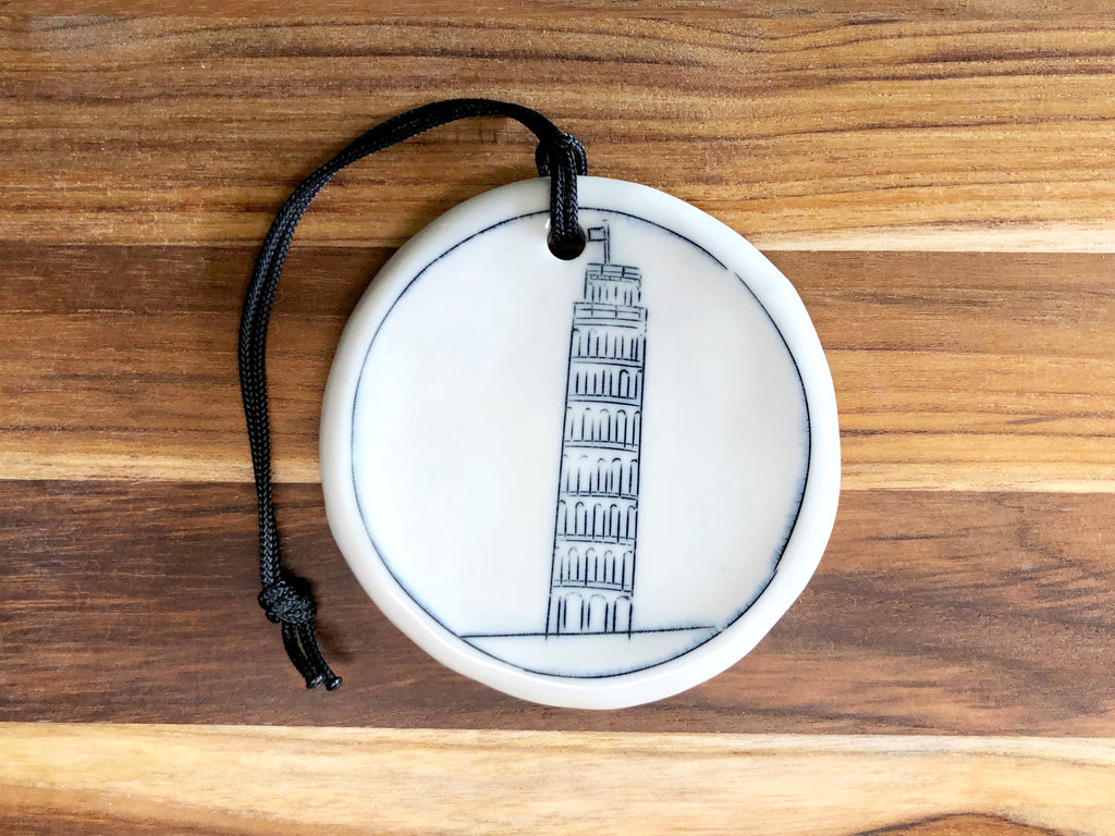 Leaning Tower of Pisa Ornament