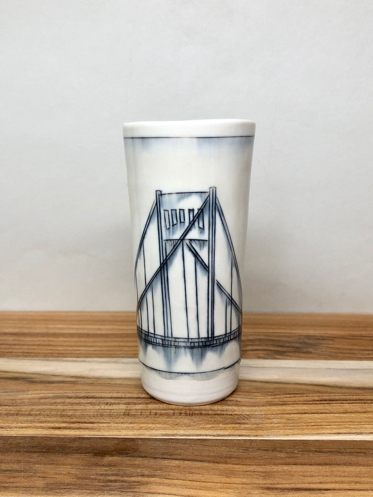 Clemente Bridge Bud Vase (Pittsburgh)