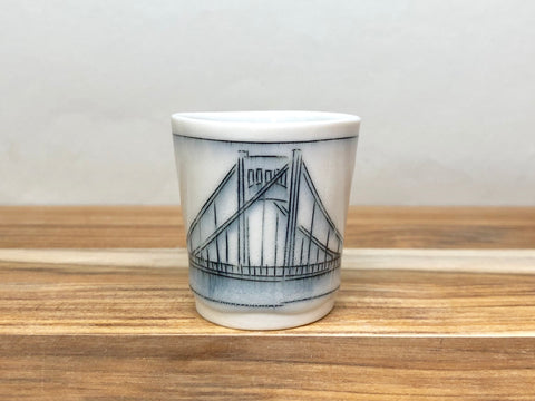 Clemente Bridge Tiny Cup (Pittsburgh)